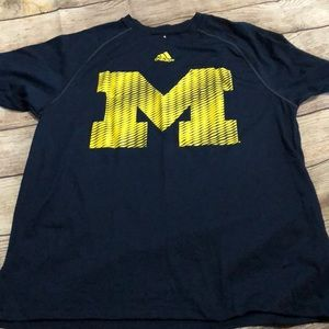 Michigan dry fit shirt